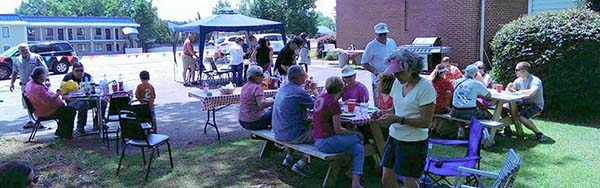 Sherwood Forest Food Summer Cookout